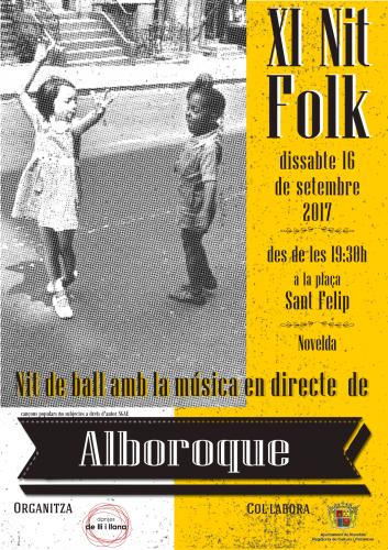 Nit Folk 2017 y mucho folk